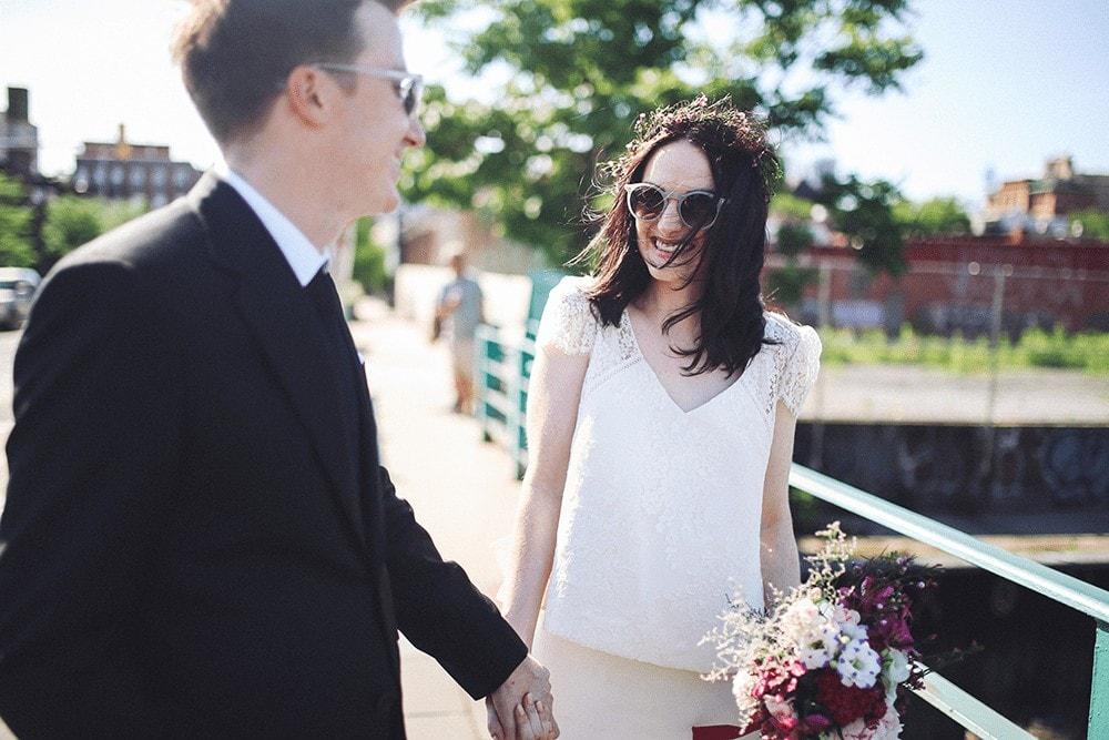 wedding portraits in gowanus