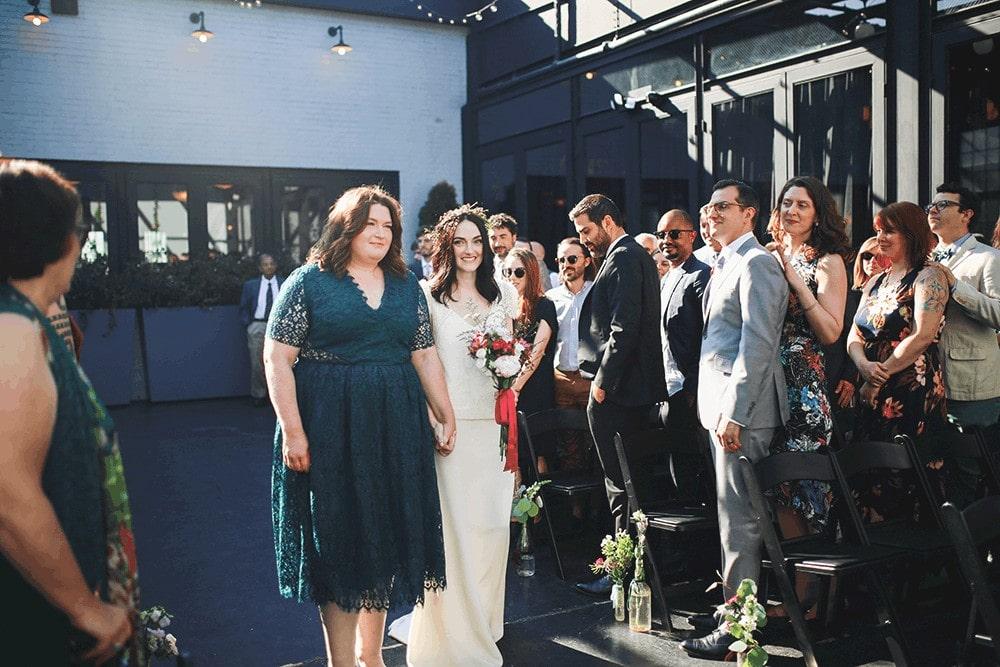 ceremony at 501 union
