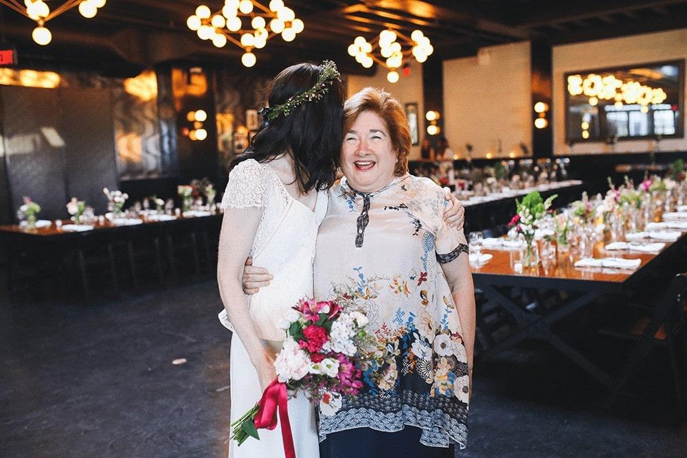 wedding reception at 501 union