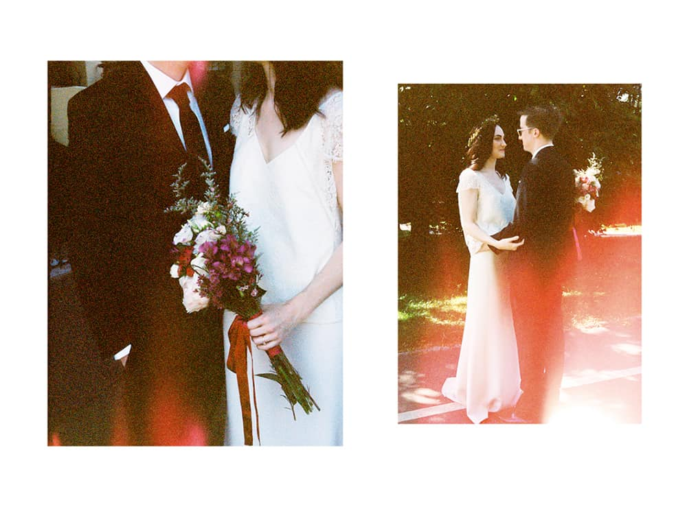 film photography for weddings