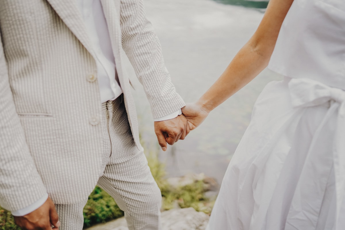 diy summer wedding at arrow park