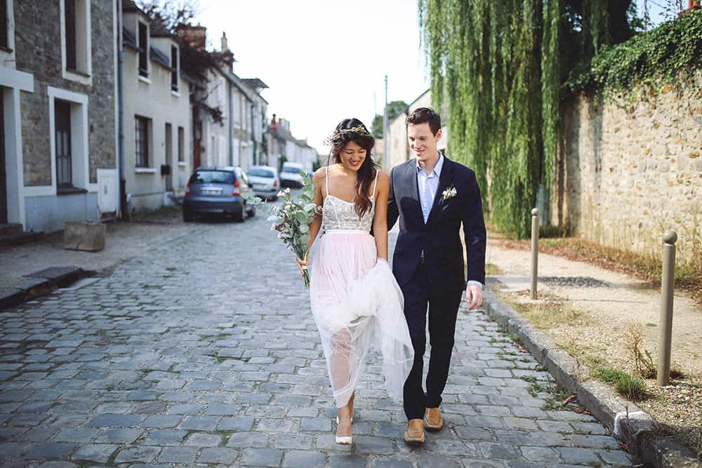 wedding pictures in barbizon, france