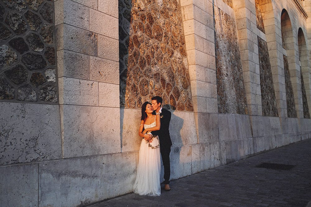 wedding photos in Montmartre, Paris