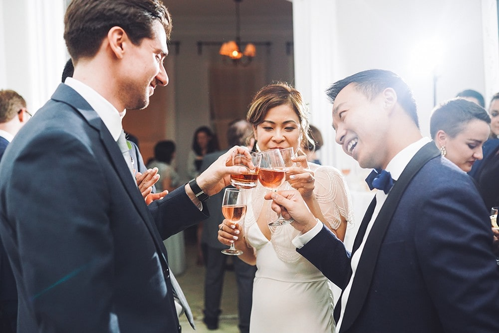 stylish DIY wedding at Maison May