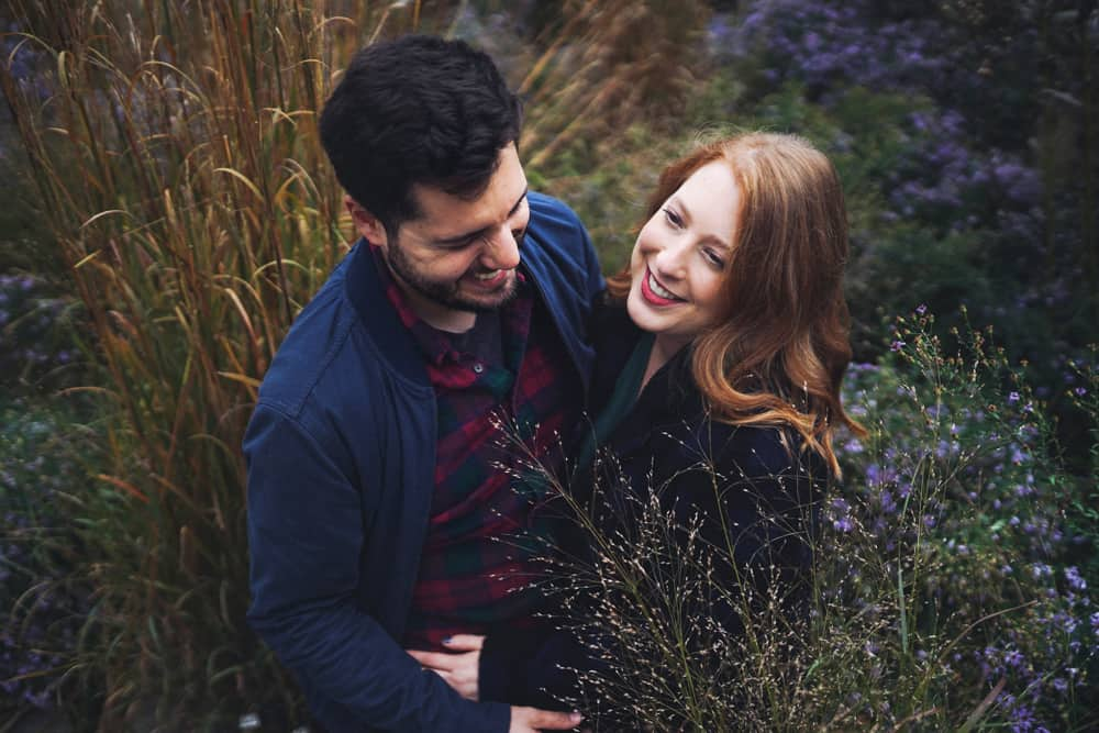 high line engagement pictures