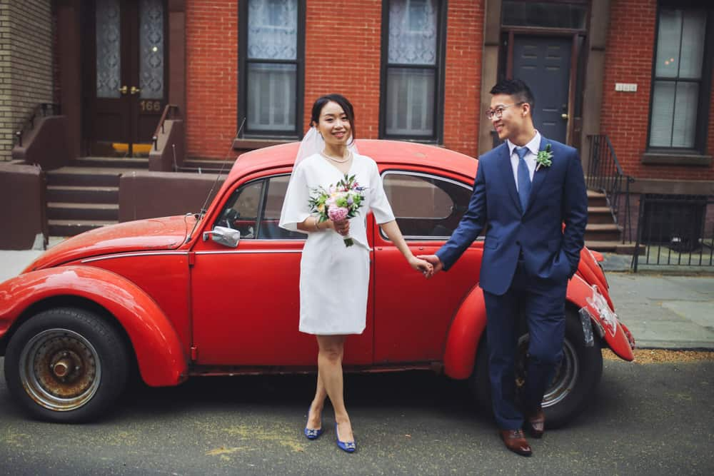 intimate elopement in brooklyn