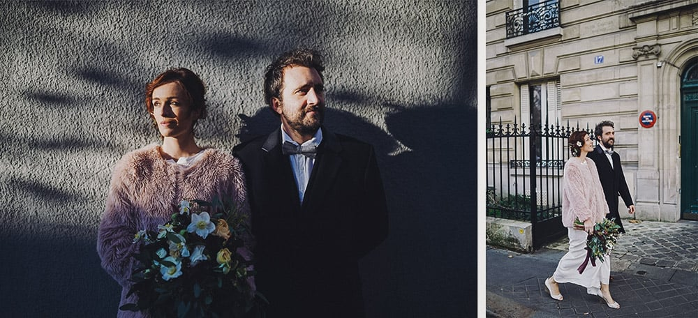 fall elopement in paris