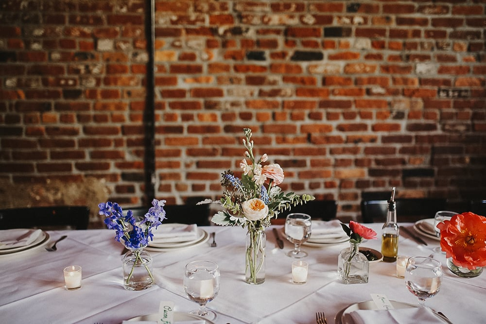 intimate wedding at Frankie Spuntino 457, Brooklyn