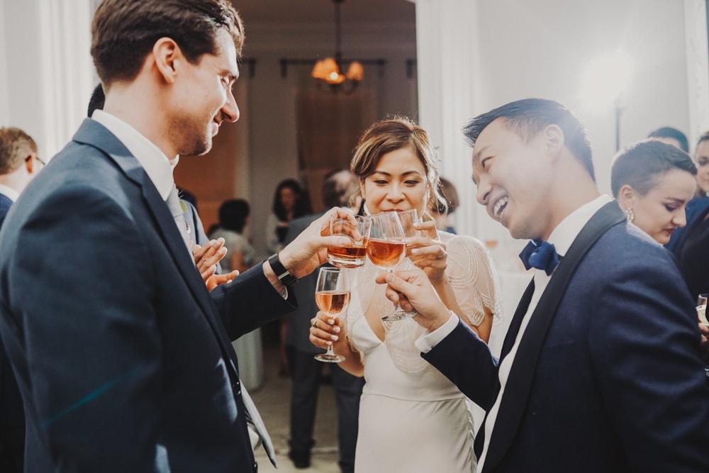intimate wedding at Maison-May Dekalb, Brooklyn