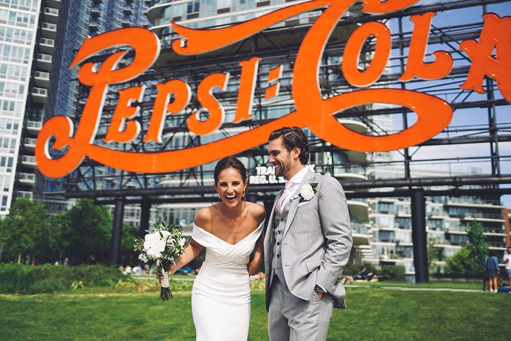 AN INTIMATE WEDDING AT GANTRY STATE PLAZA
