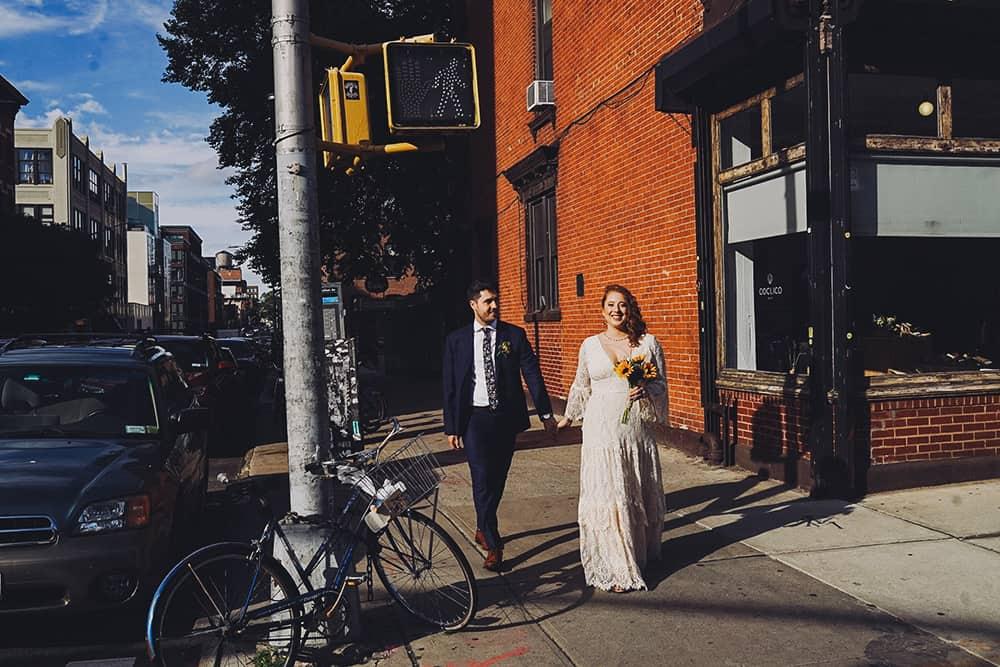 Radegast Biergarten Indie Wedding