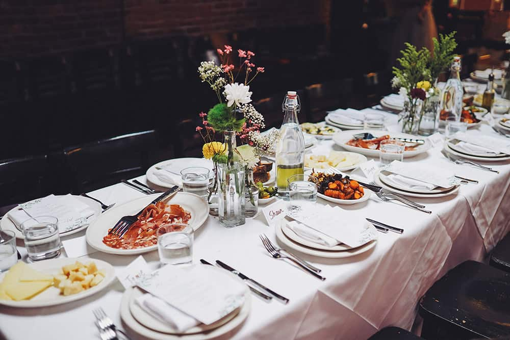 A Backyard Wedding at Frankies Spuntino Brooklyn