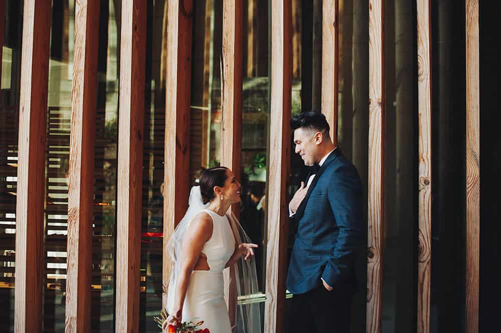 intimate Fall wedding at Celestine, Brooklyn