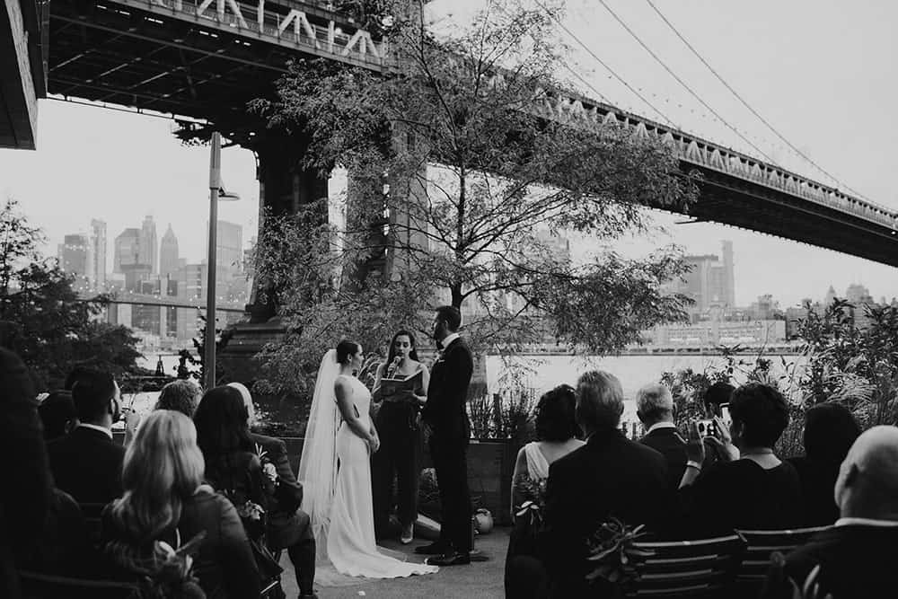 Fall wedding at Celestine, Brooklyn