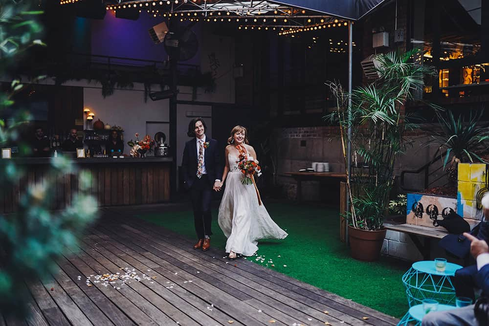 unique wedding at Freehold, Brooklyn