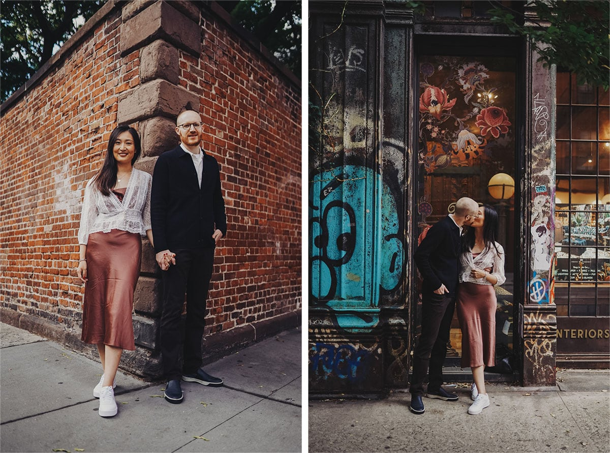 Soho engagement shoot idea