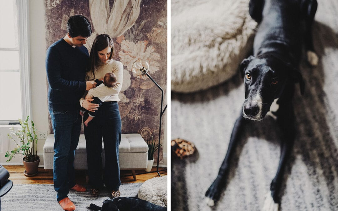 A NEWBORN PHOTO SESSION AT HOME IN BROOKLYN